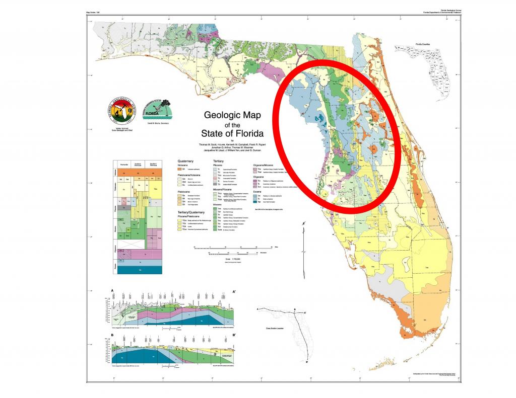 Us Geological Sinkhole Map Us Unique United States Map Sinkholes - Florida Sinkhole Map