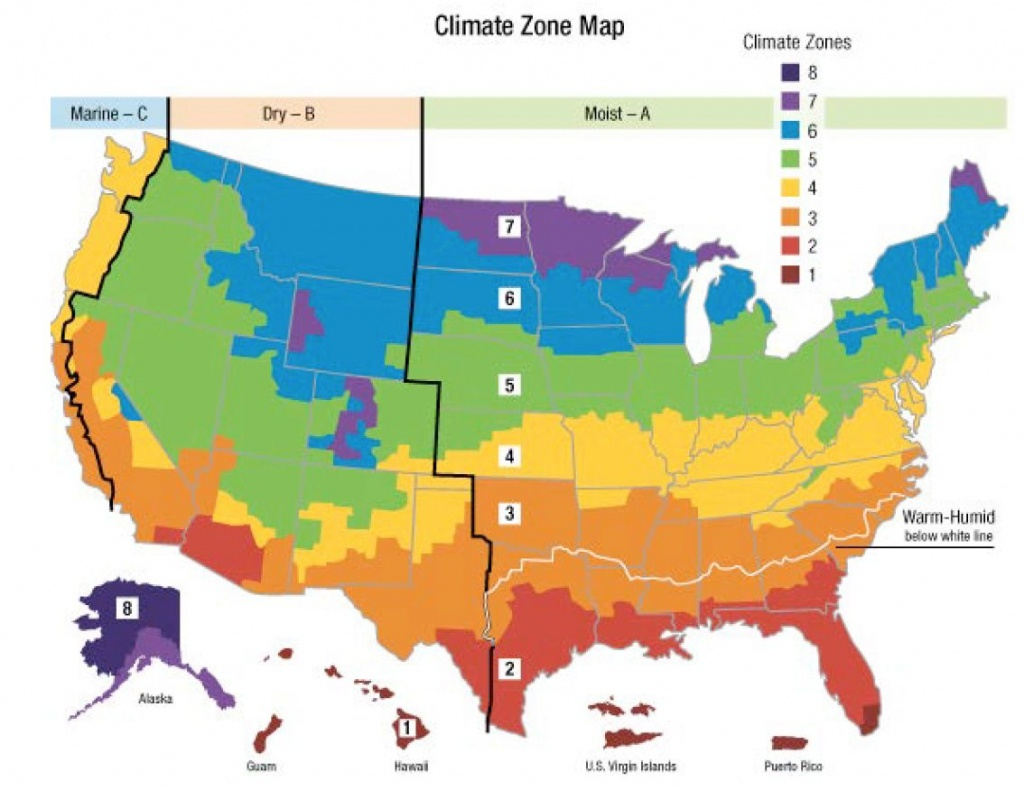 Us Heating Climate Zone Map 15   Mapweb   Map, Weather, Climate - Florida Building Code Climate Zone Map