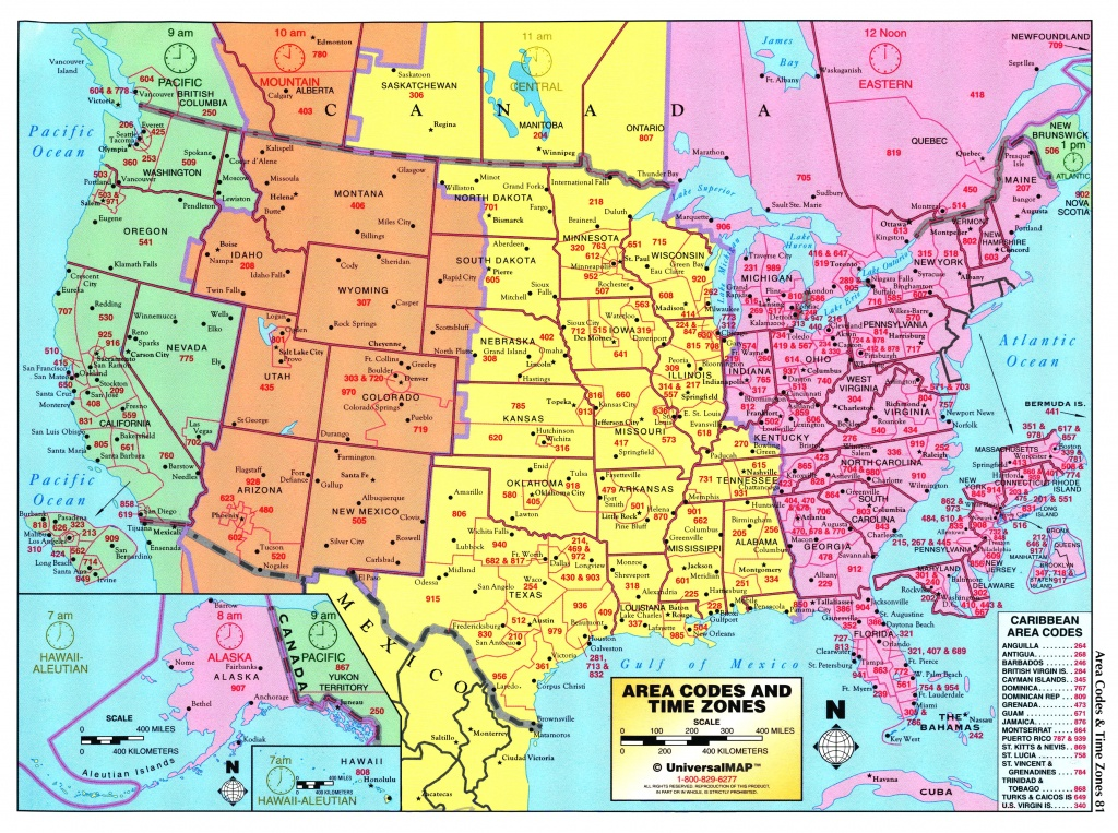 Us Maps Time Zone And Travel Information | Download Free Us Maps - Printable Us Time Zone Map With Cities