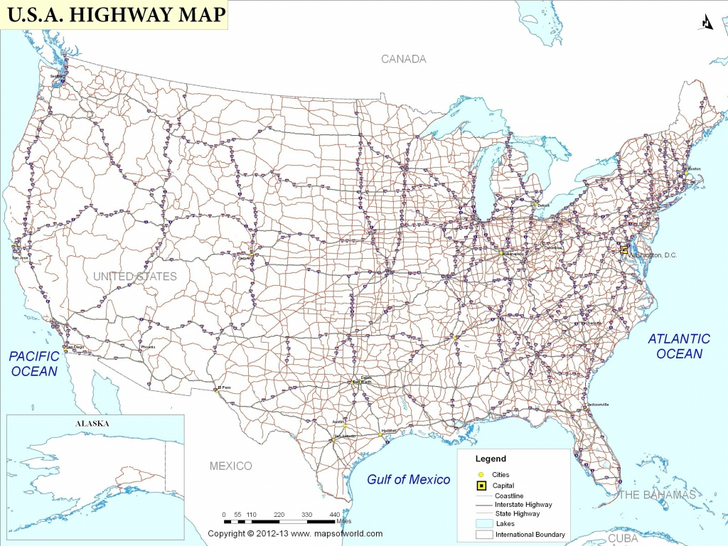 us maps with interstates maplewebandpc printable state maps with highways Printable State Maps With Highways