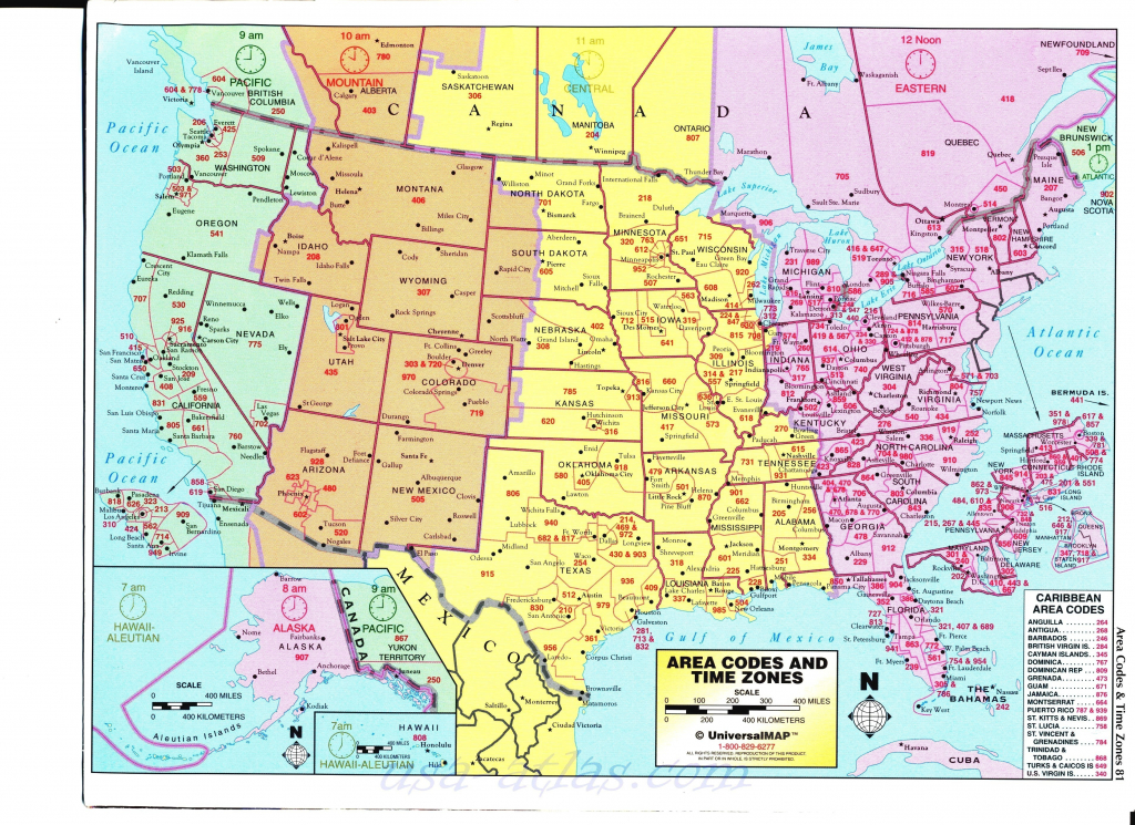 Us Time Zone Map Hawaii New Map United States With Time Zones - Us Timezone Map Printable
