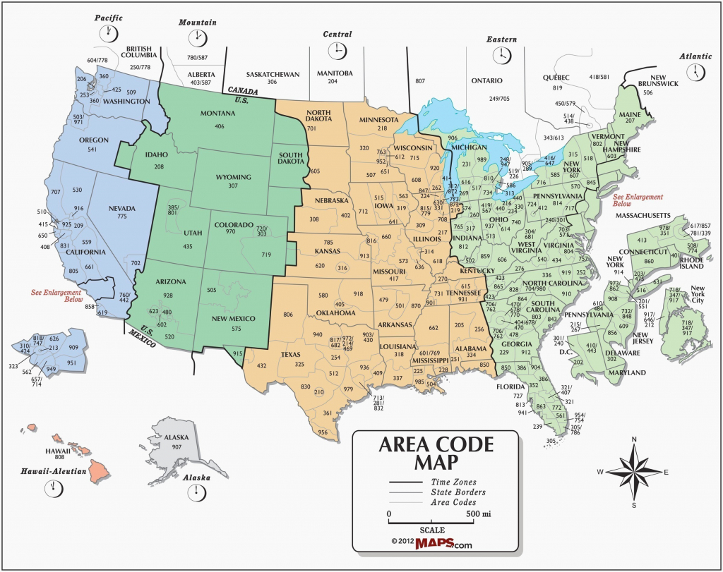 Us Time Zones Printable Map Time Zones Inspirational Us City Time - Printable Time Zone Map With State Names