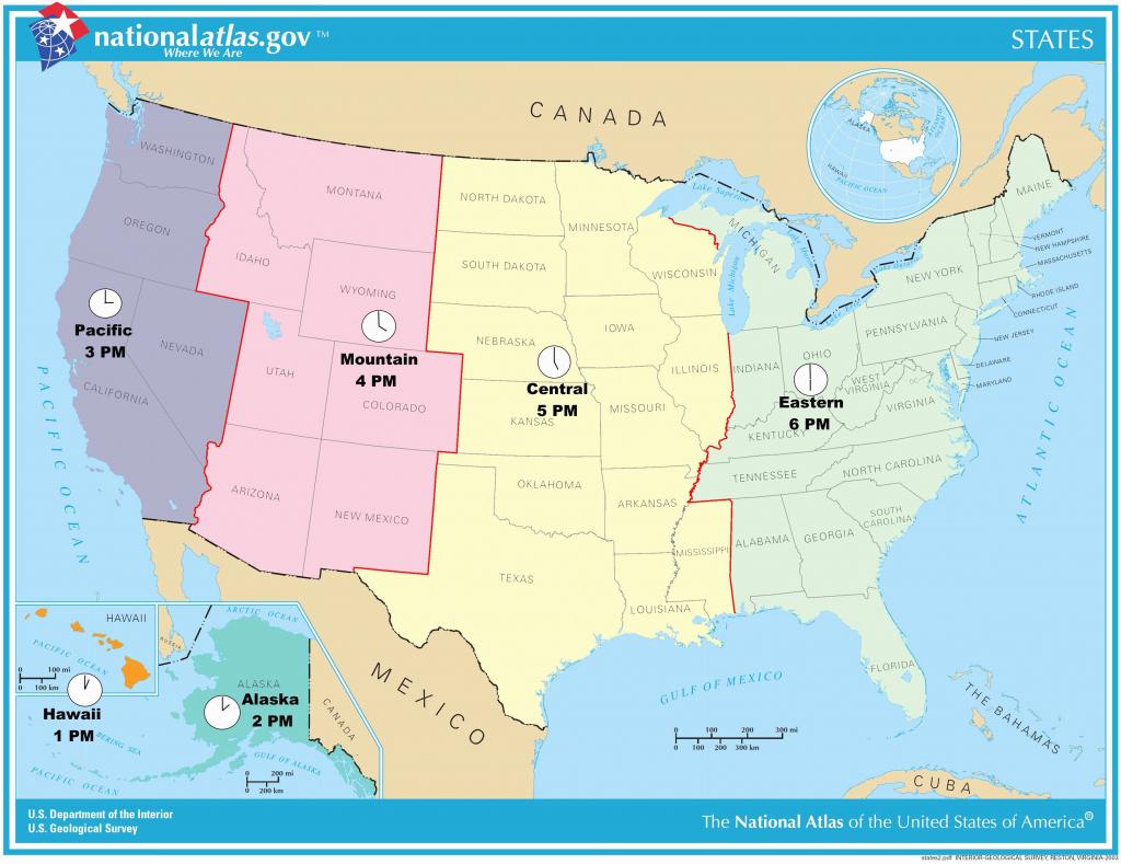 Us Timezone Map With States Timezonemap Beautiful Time Zone Maps - Us Map With States And Time Zones Printable