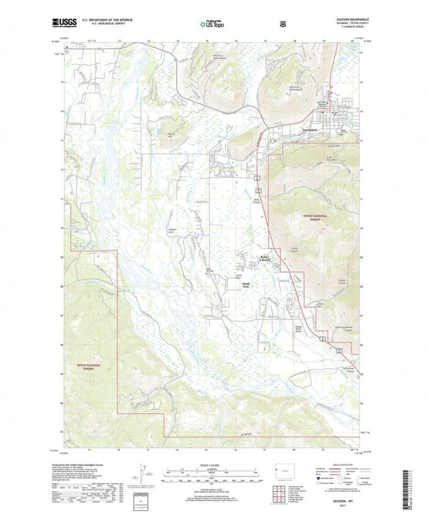 Us Topo: Maps For America - Printable Topographic Map