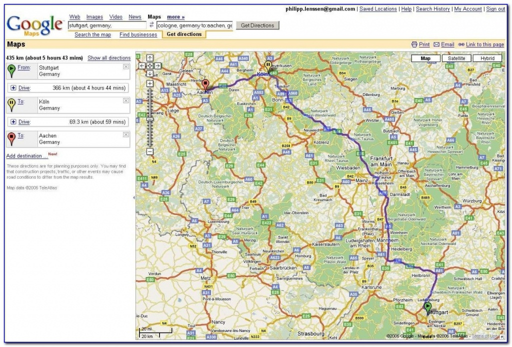 Usa Map Driving Directions Google Maps Driving Directions Free - Printable Google Maps