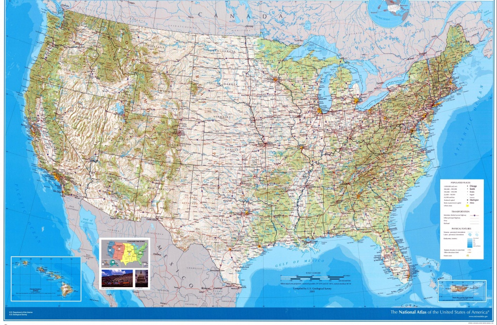 Usa Maps | Printable Maps Of Usa For Download - Printable Road Map Of Western Us