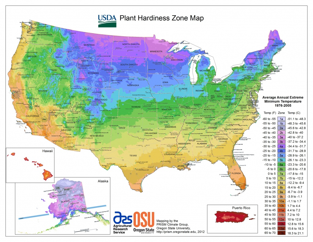 Usda Hardiness Zone Finder - Garden - B Zone California Map