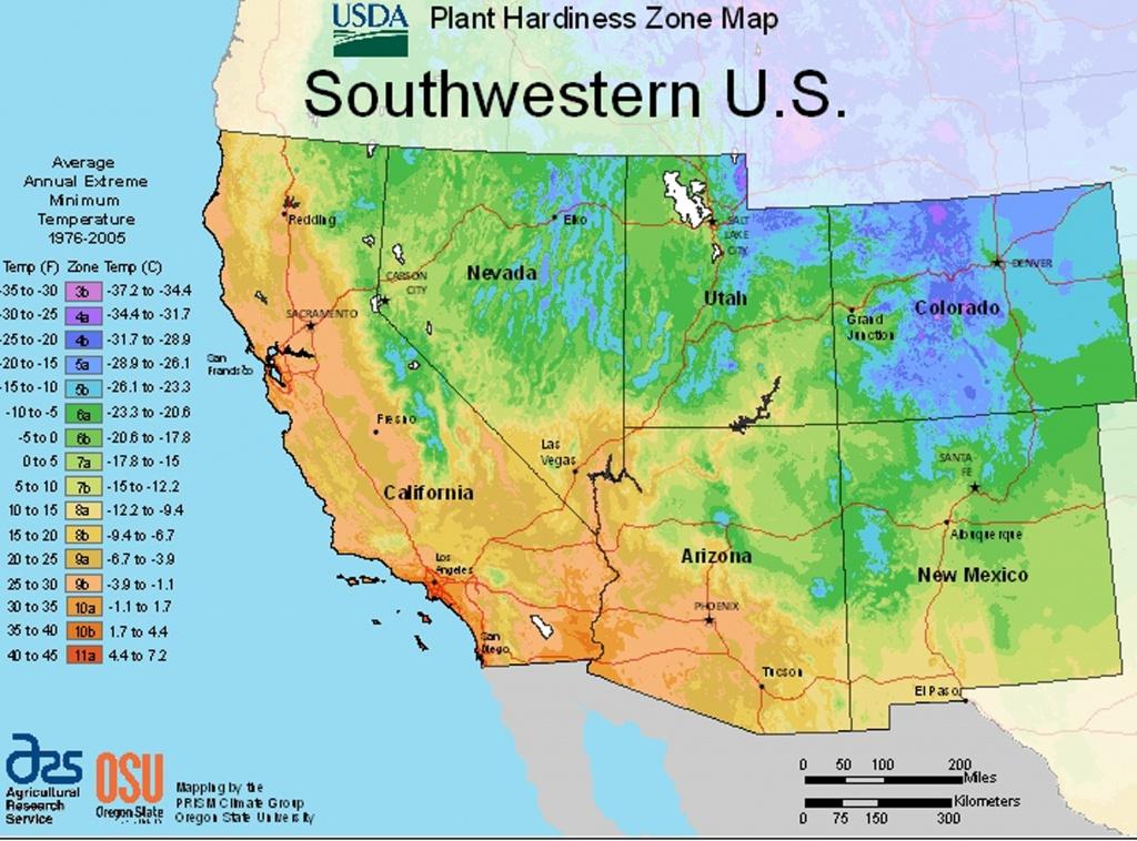 Usda Plant Hardiness Zone Mapsregion - Texas Planting Zones Map