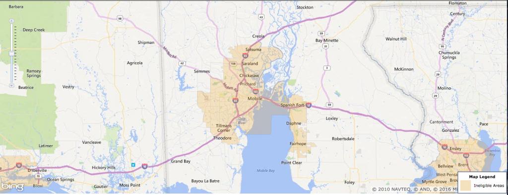 Usda Rural Development Loan - Mobile, Al - Usa Home Financing - Usda Home Loan Map Texas