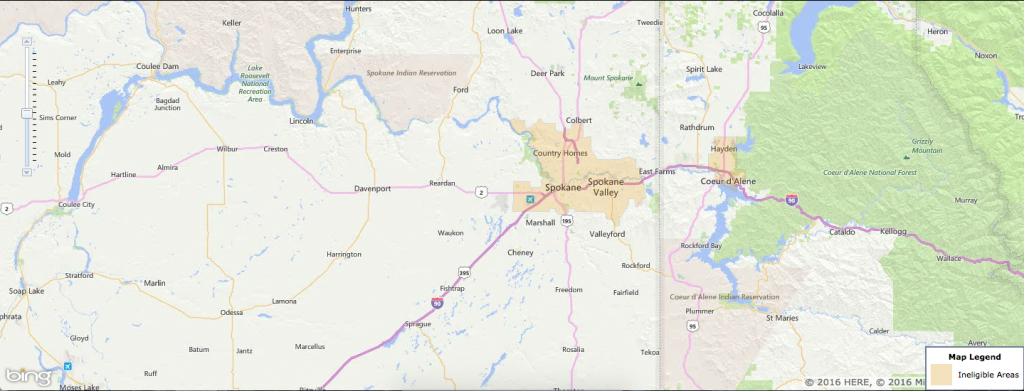 Usda Rural Development Loan - Spokane, Wa - Usa Home Financing - Usda Eligibility Map Texas