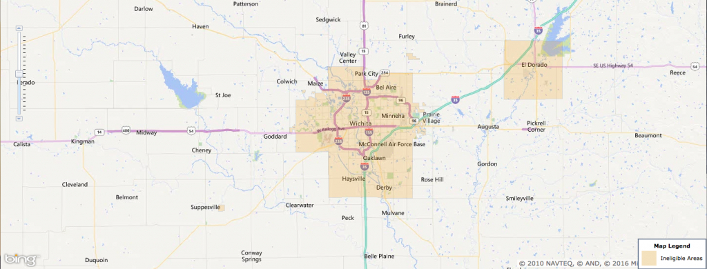 Usda Rural Development Loan - Wichita, Ks - Usa Home Financing - Usda Loan Map Florida