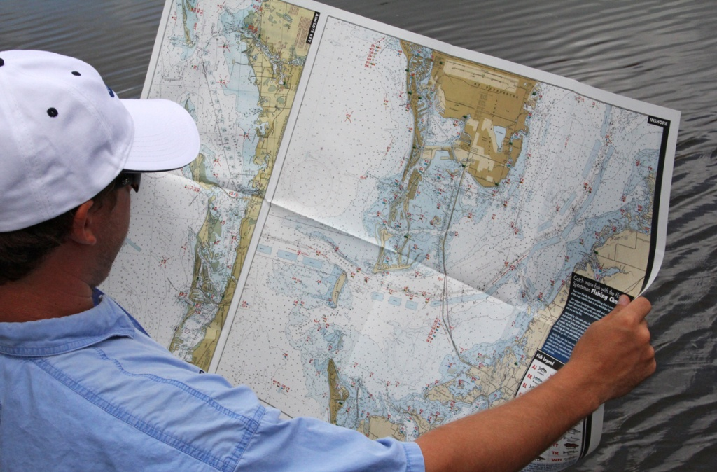 Use Your Chart To Catch More Fish, And Win! - Florida Sportsman - Florida Sportsman Fishing Maps