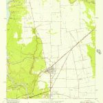 Usgs 1:24000 Scale Quadrangle For Crosby, Tx 1954   Crosby Texas Map
