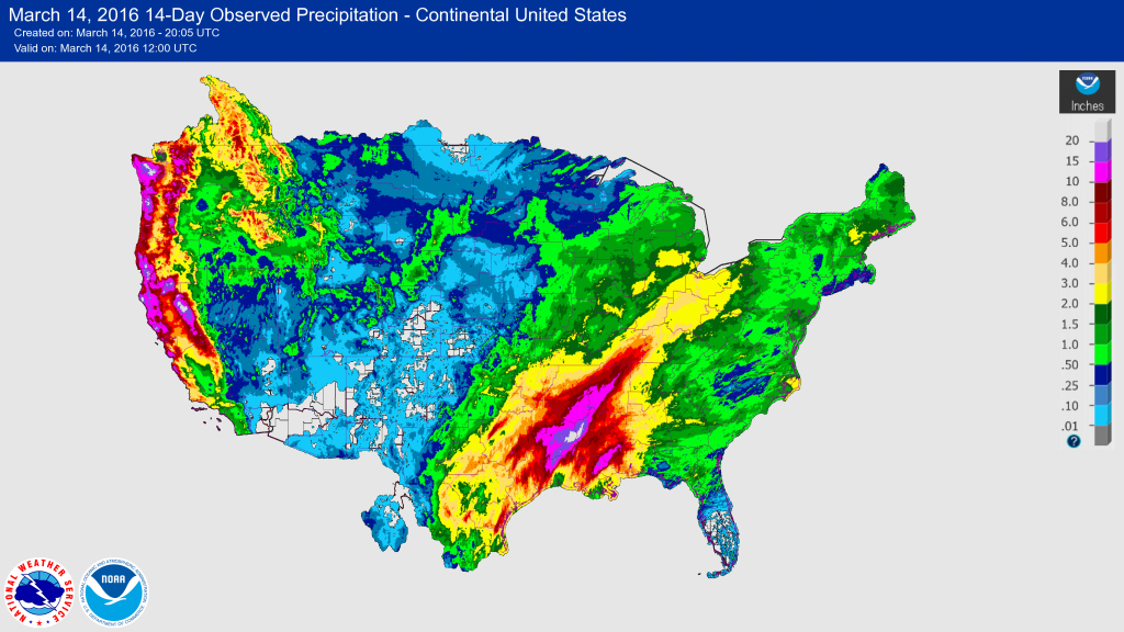 Usgs 2016 Spring Floods - Spring Texas Flooding Map