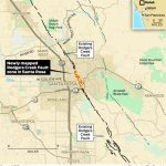 Usgs Finds Long Obscured Earthquake Fault In Downtown Santa Rosa   Graton California Map