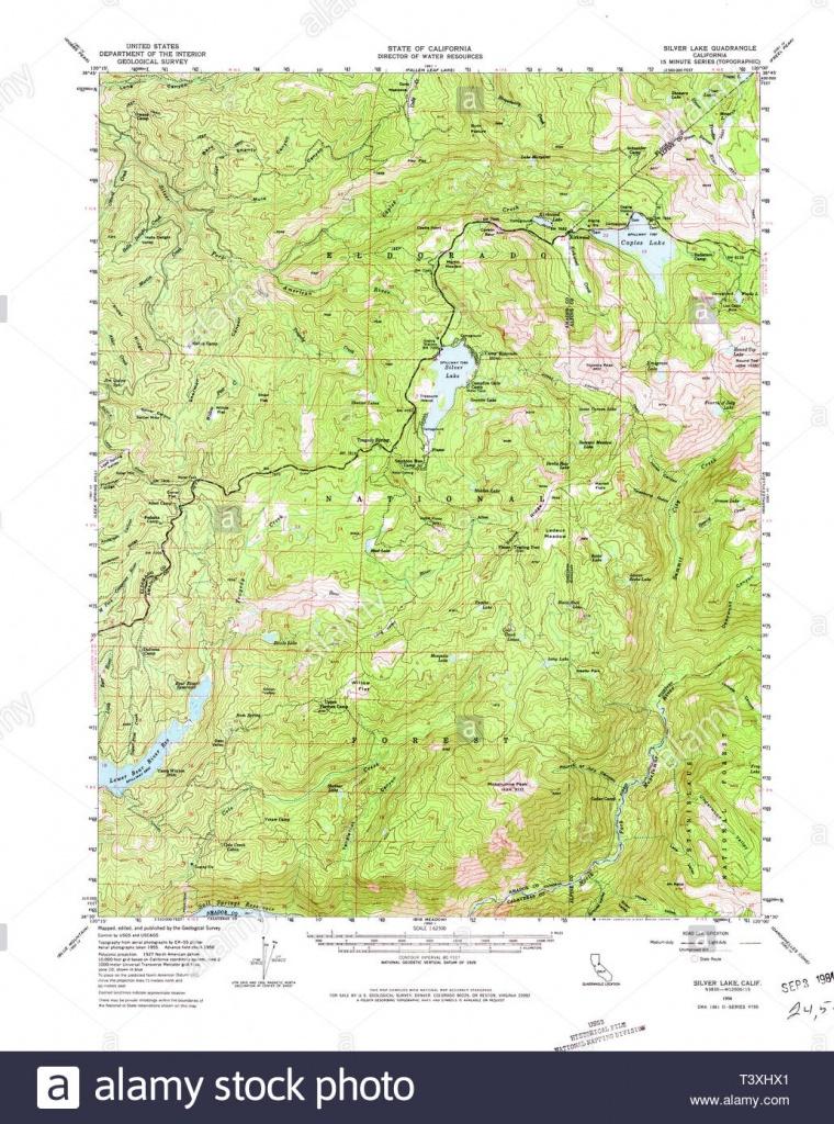 Usgs Topo Map California Ca Silver Lake 301726 1956 62500 - Silver Lake California Map