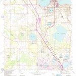 Usgs Topo Map Florida Fl Frostproof 346353 1953 24000 Restoration   Frostproof Florida Map
