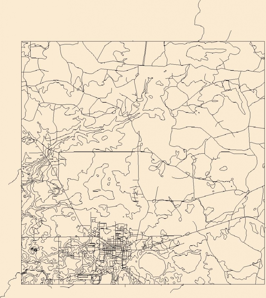 Usgs Topo Map Vector Data (Vector) 22415 Jasper, Florida 20180626 - Jasper Florida Map