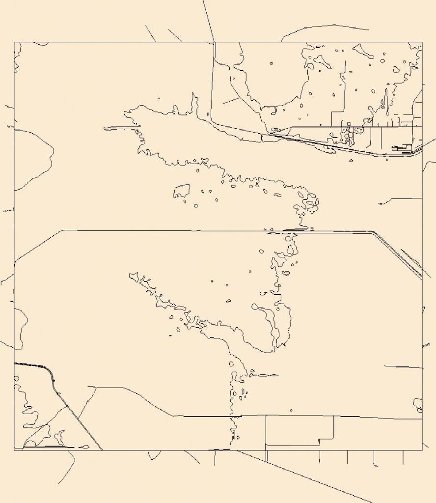 Usgs Topo Map Vector Data (Vector) 24736 Lakeport, Florida 20180626 - Usgs Topographic Maps Florida