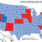 Utah Concealed Weapons Permit Reciprocity Map | Misc | Concealed   Florida Concealed Carry Permit Reciprocity Map