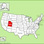 Utah State Maps | Usa | Maps Of Utah (Ut)   Utah State Map Printable