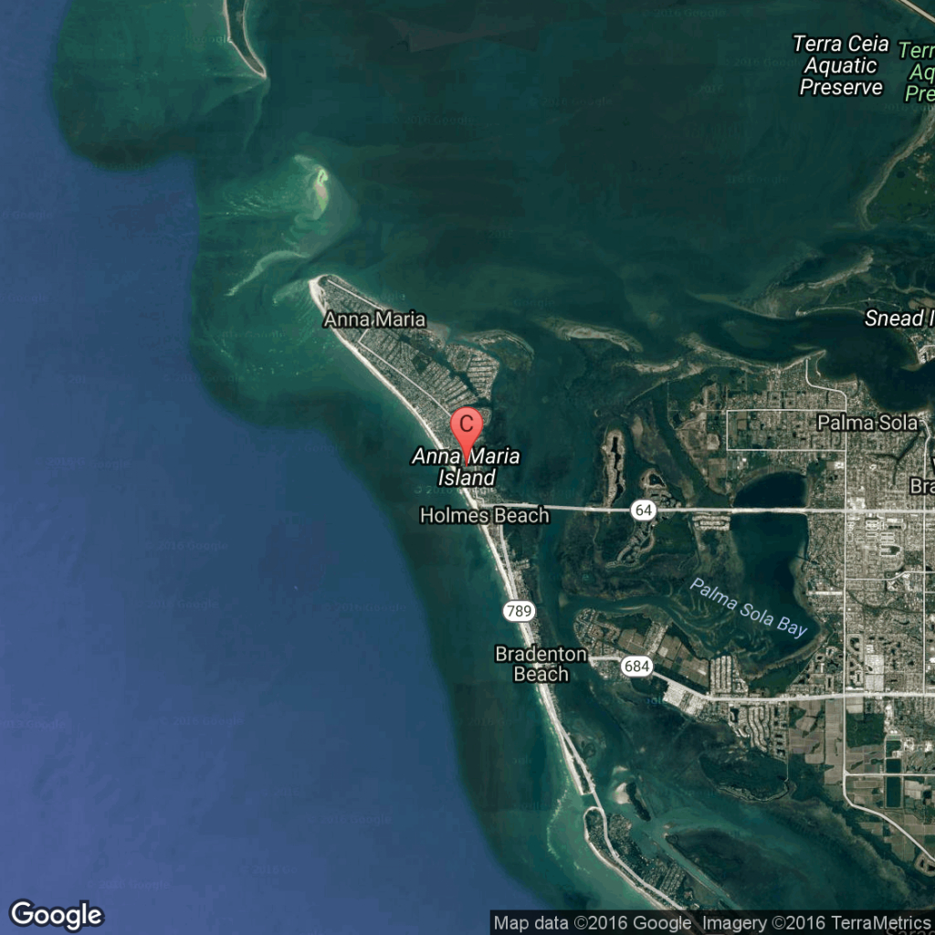 Vacations To Anna Maria Island, Florida | Usa Today - Hutchinson Island Florida Map