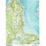 Vashon Topographic Map, Wa   Usgs Topo Quad 47122D4   Vashon Island Map Printable