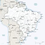 Vector Map Of Brazil Political | One Stop Map   Free Printable Map Of Brazil