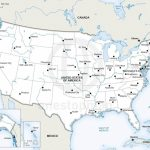 Vector Map Of United States Of America | One Stop Map   Printable Map Of The Usa With States And Cities