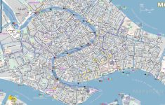 Venice Maps   Top Tourist Attractions   Free, Printable City Street Map   Tourist Map Of Venice Printable