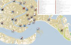 Venice Printable Tourist Map | Sygic Travel   Street Map Of Venice Italy Printable