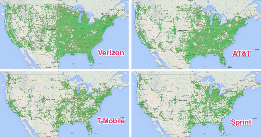 Verizon California Coverage Map Verizon Coverage Map California - Cell Phone Coverage Map California
