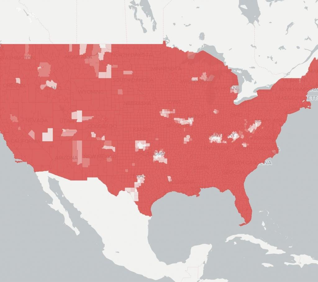 Verizon Wireless | Internet Service Provider | Broadbandnow - T Mobile Coverage Map Texas