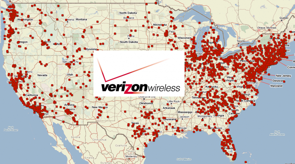 Verizon Wireless Plans And Coverage Review - Verizon Coverage Map California