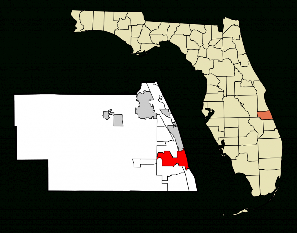 Vero Beach, Florida - Wikipedia - Indian Harbour Beach Florida Map