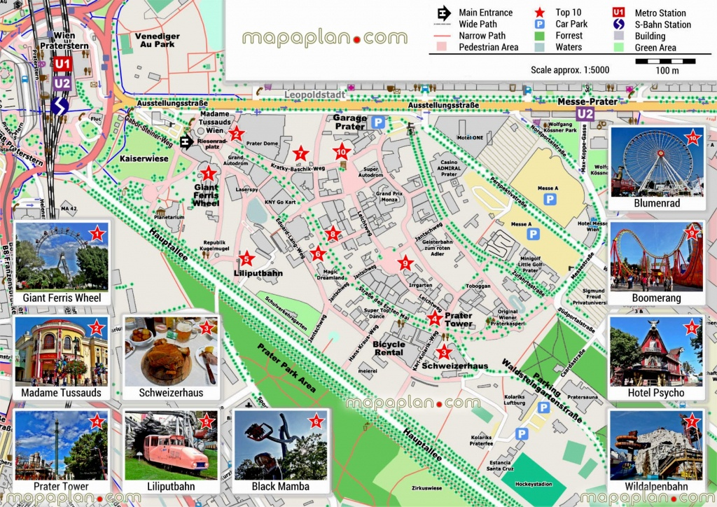 Vienna Maps Top Tourist Attractions Free Printable City – Vienna - Budapest Tourist Map Printable