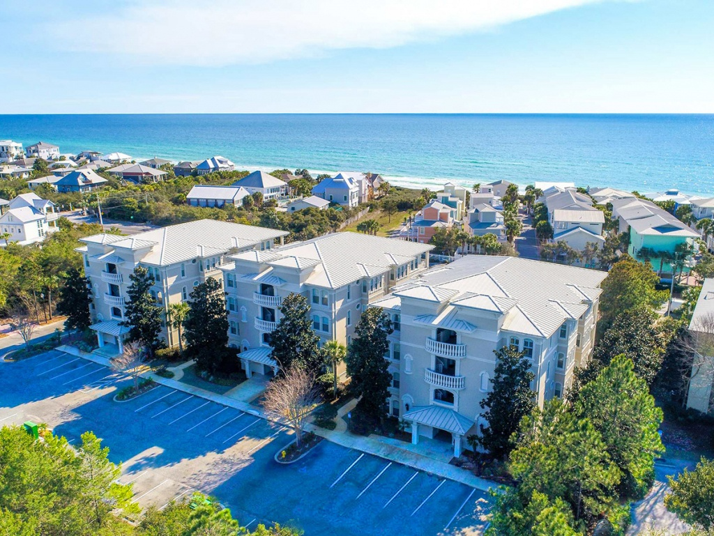 Villas At Seagrove Beach | South Walton Condo Rentalsocean Reef - Where Is Seagrove Beach Florida On A Map