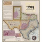 Vinmaps Texas Wine Country Map, Appellations & Wineries Review   Texas Hill Country Wineries Map
