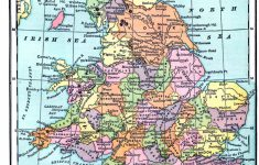 Vintage Printable   Map Of England And Wales   The Graphics Fairy   Printable Map Of England And Scotland