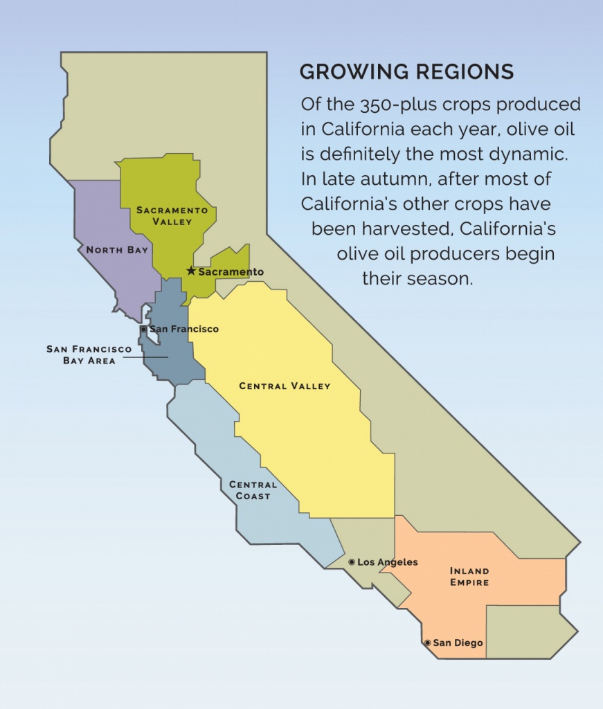 Visit A Member - California Olive Oil Council - Where Is Sacramento California On A Map