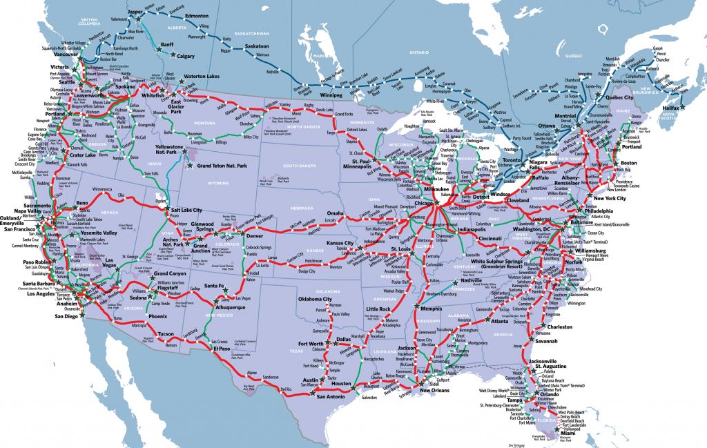 Visit America's Most Stunning National Parkstrain In 2019 - Amtrak California Zephyr Map