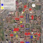 Visitor Parking Map | Transportation & Parking Services | Ttu   Texas Tech Housing Map