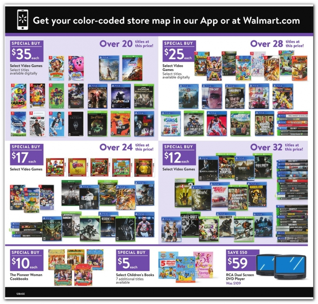 Walmart Black Friday Ads, Sales, Doorbusters, And Deals 2018 – Couponshy - Printable Walmart Black Friday Map