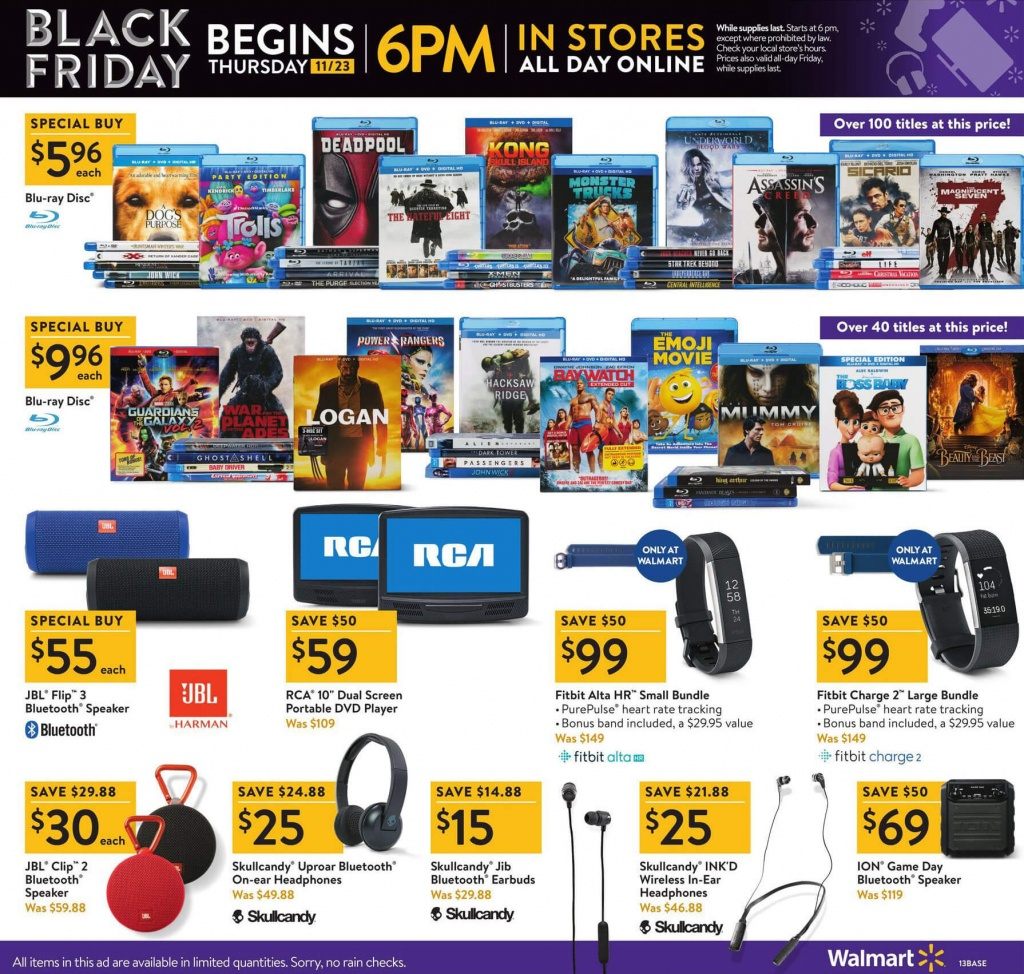 Walmart Deals And Coupons July 2019 | Finder - Printable Walmart Black Friday Map