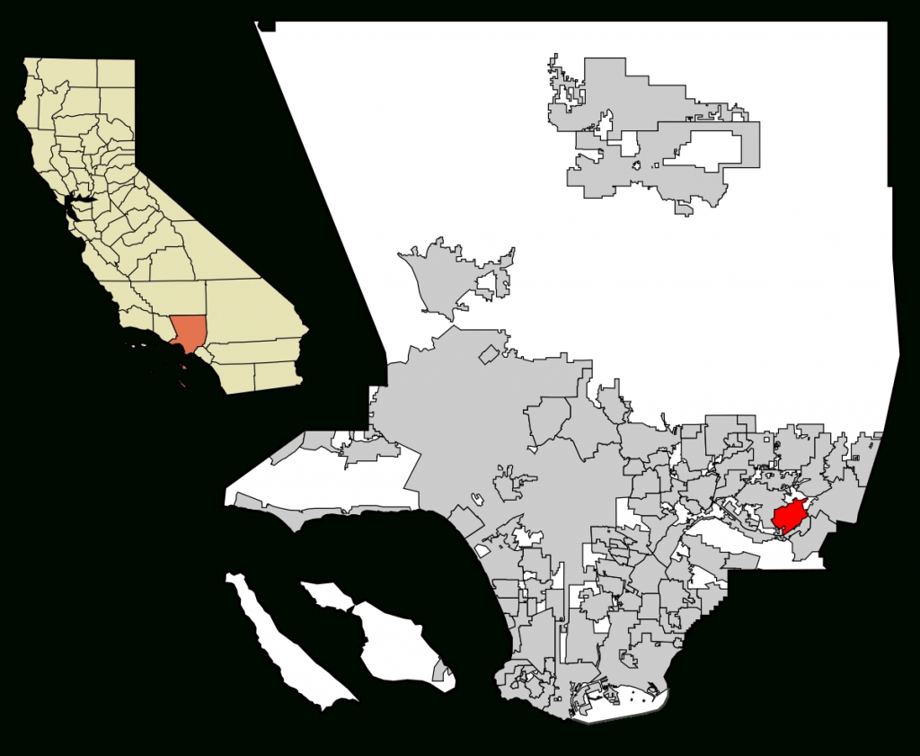 Walnut, California – Wikipedia In Map Of California Cities Walnut - Walnut California Map