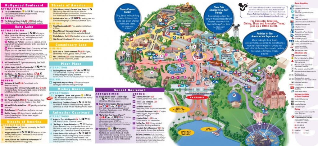 Walt Disney World Map 2014 Printable | Walt Disney World Park And - Walt Disney World Park Maps Printable