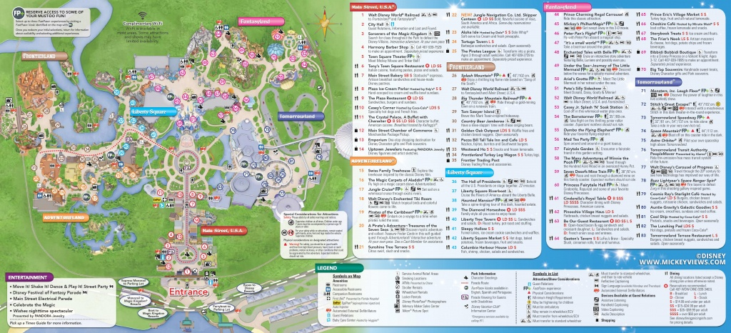 Walt Disney World Maps - Walt Disney Florida Map
