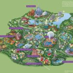 Walt Disney World® Resort Map  Wyndham Lake Buena Vista   Hotel Near   Disney Florida Map