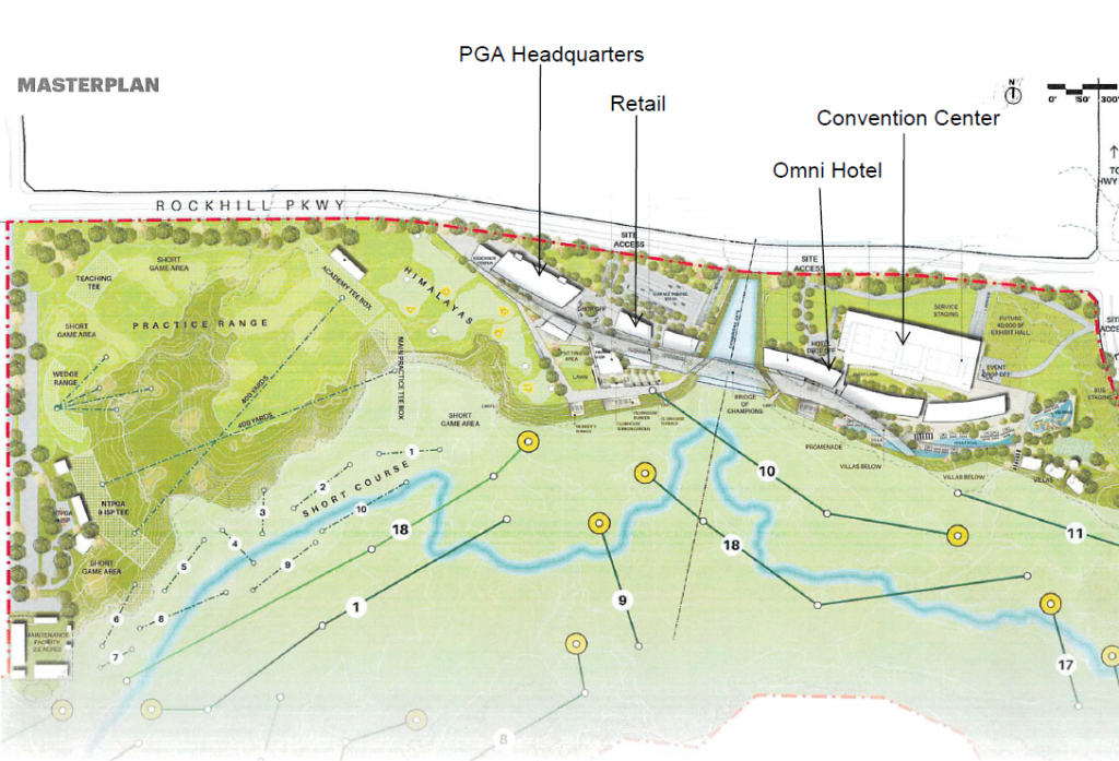 Want To Golf Like A Pro? New Pga Courses In Frisco Will Allow Public - Texas Golf Courses Map