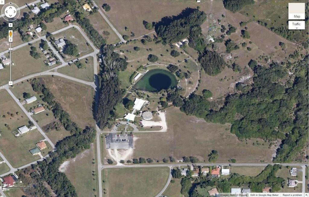 Warm Mineral Springs   Gator Preservationist - Warm Mineral Springs Florida Map